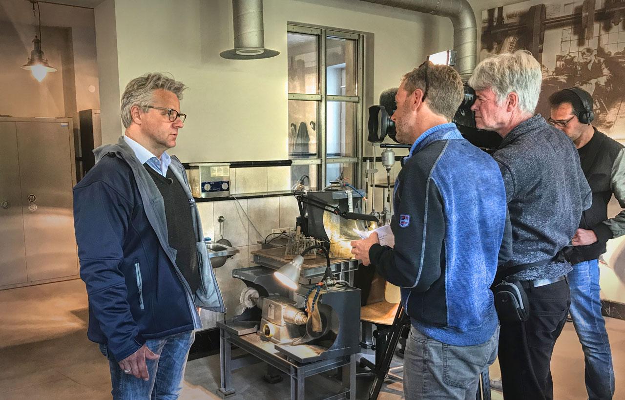 SR-TV-at-Constantin-Wild-workshop-in-Idar-Oberstein